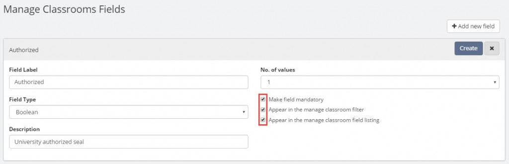 Manage Teamie_Manage classroom meta field list_Add new fields 3.1